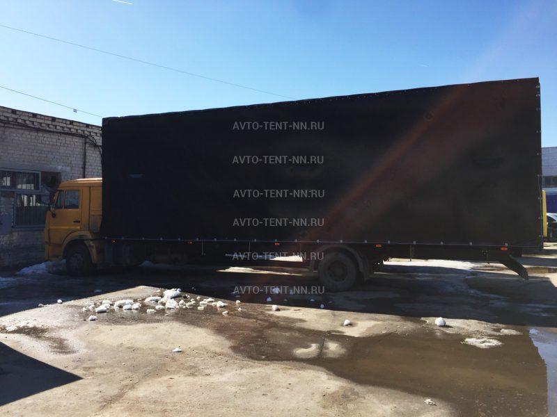 Изготавливаем тенты на КАМАЗ 6520
