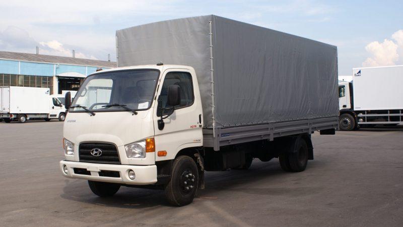 Изготавливаем тенты на Hyundai HD78