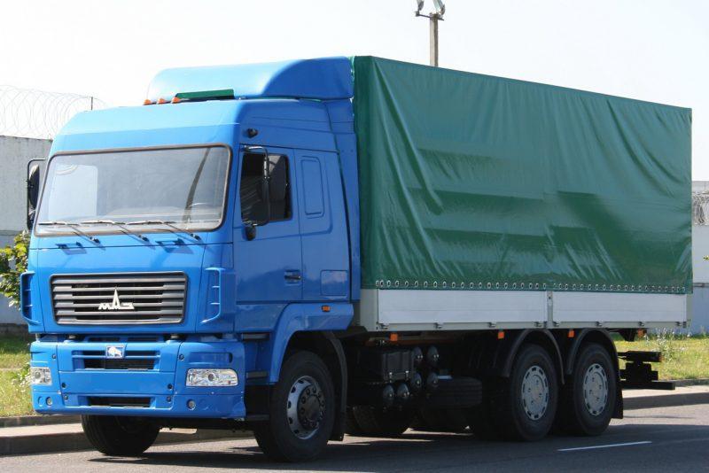 Изготавливаем тенты на МАЗ 6312