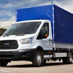 Изготовление тентов на Ford Tranzit